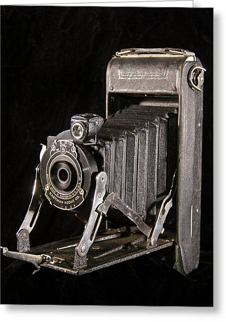 Pocket Kodak Series II Greeting Card by Michael Peychich