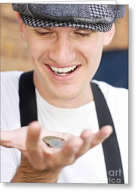Pocket Money Greeting Card