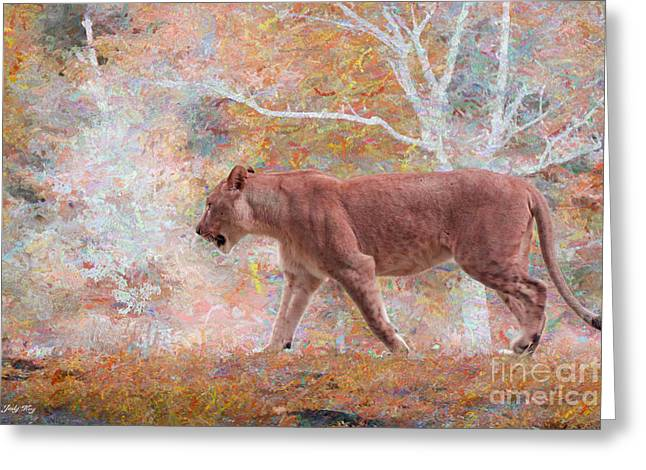 Poetry In Motion Greeting Card by Judy Kay