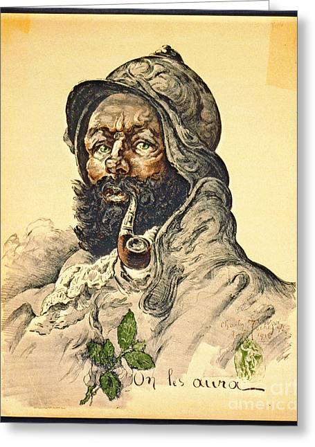 Poilu 1916 Greeting Card by Padre Art