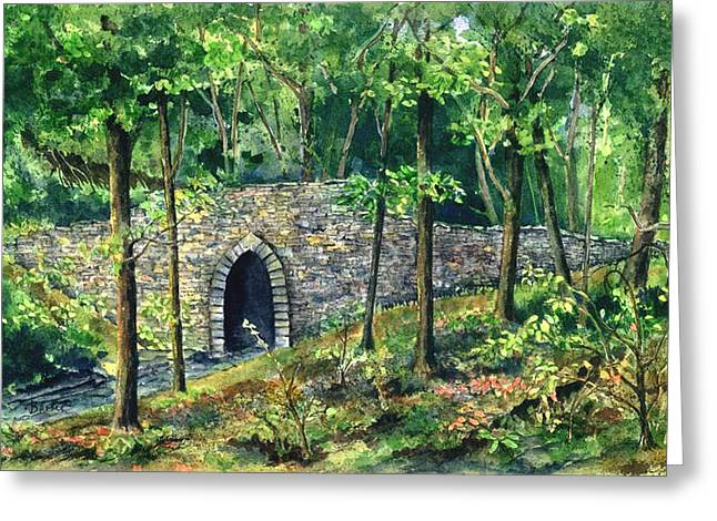 Poinsett Bridge  Greeting Card