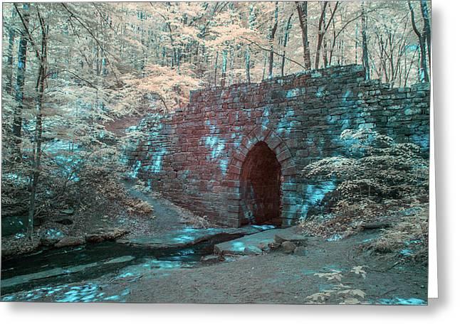 Poinsett Bridge-ir-4 Greeting Card