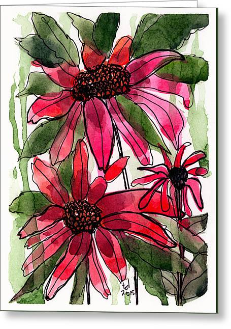 Poinsettia 2 Greeting Card