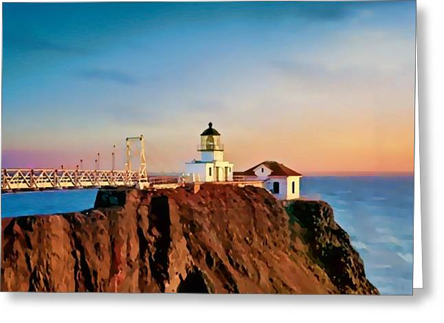 Point Bonita Lighthouse Greeting Card