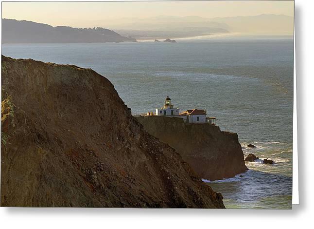 Point Bonita Lighthouse In San Francisco Greeting Card