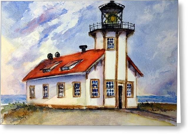Point Cabrillo Light Station - Fort Bragg Greeting Card