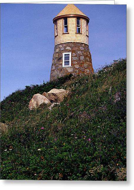 Point Gammon Lighthouse Greeting Card by Skip Willits