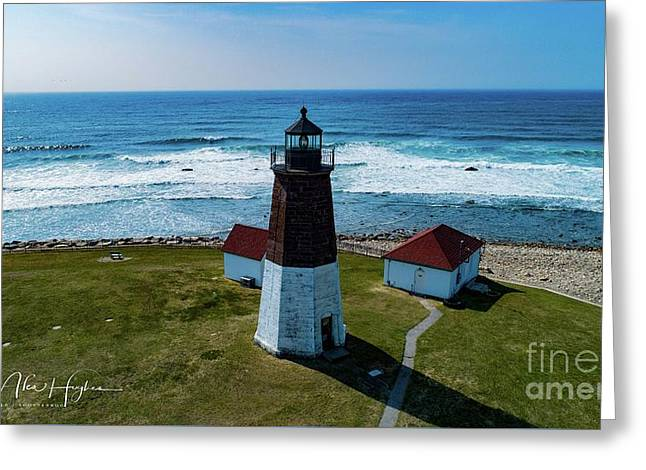 Point Judith Lighthouse Greeting Card