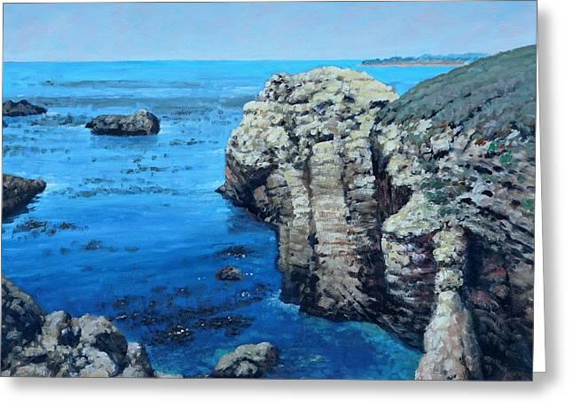 Point Lobos California Greeting Card