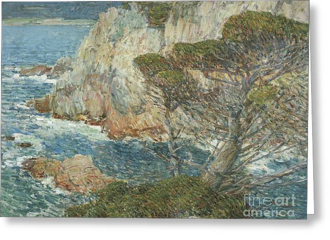 Point Lobos, Carmel, 1914 Greeting Card by Childe Hassam