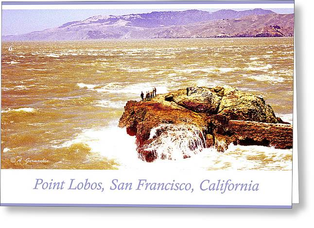 Point Lobos San Francisco California Greeting Card by A Gurmankin