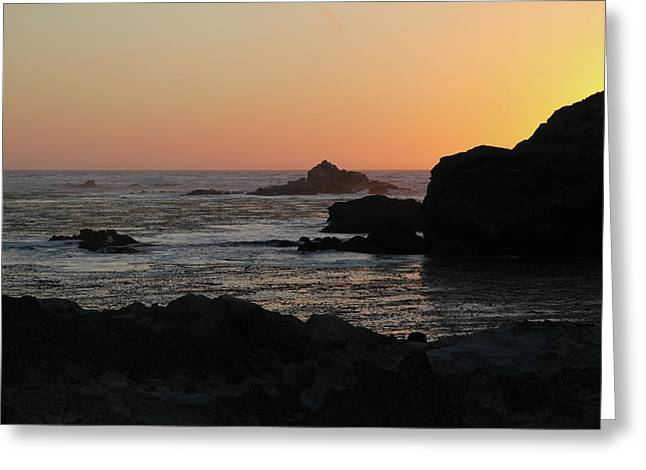 Greeting Card featuring the photograph Point Lobos Sunset by David Chandler