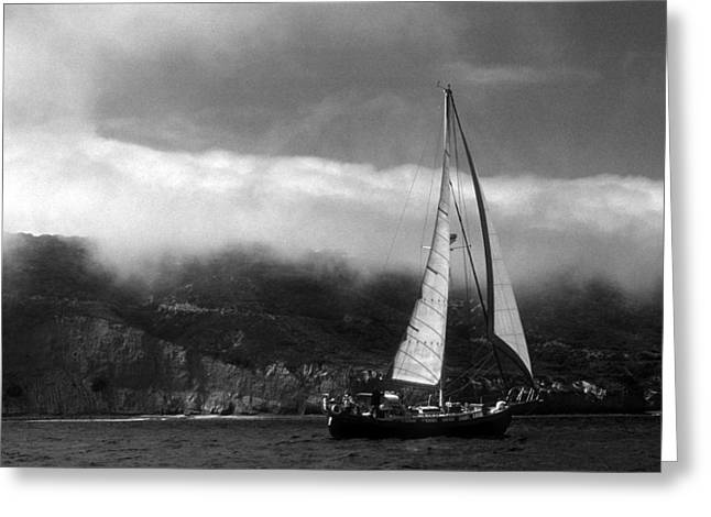 Point Loma Fog Greeting Card