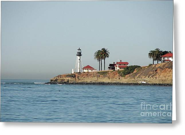 Point Loma Lower Lighthouse Greeting Card