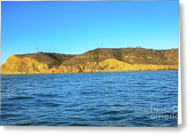 Point Loma Greeting Card by Robert Bales