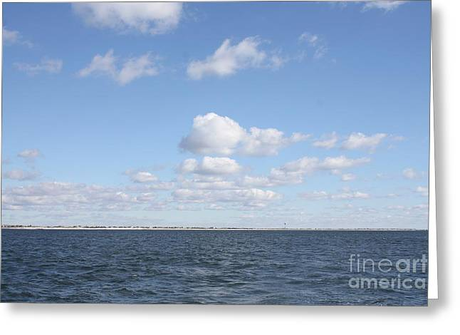 Point Lookout From The Atlantic Ocean Greeting Card by John Telfer