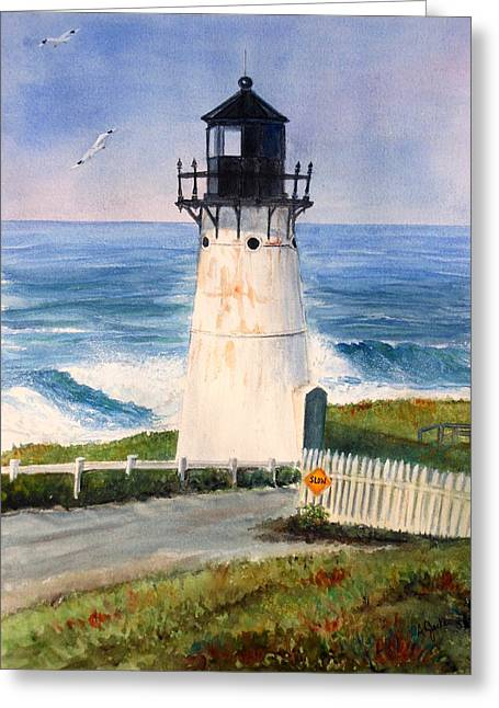 Point Montara Lighthouse Greeting Card