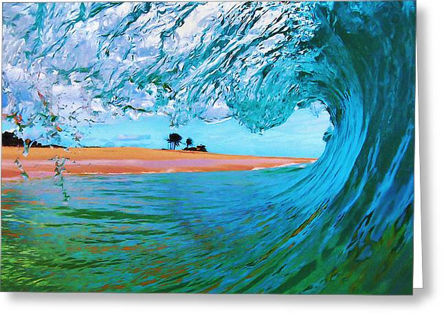 Sandy Beaches Greeting Cards - Point of View Greeting Card by Paul Topp