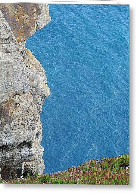Point Reyes Cliffs Greeting Card