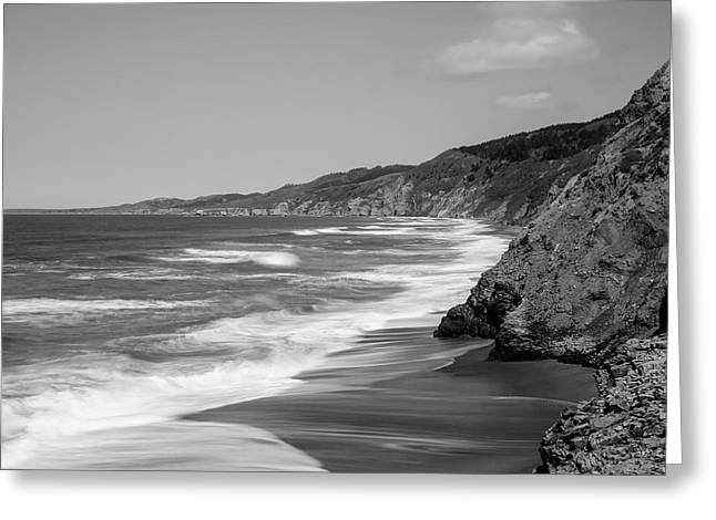 Point Reyes Coast Panorama Greeting Card by Alessandra RC