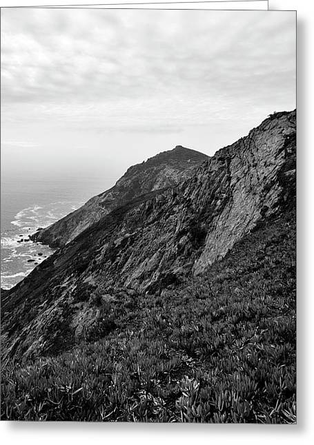 Point Reyes II Bw Greeting Card