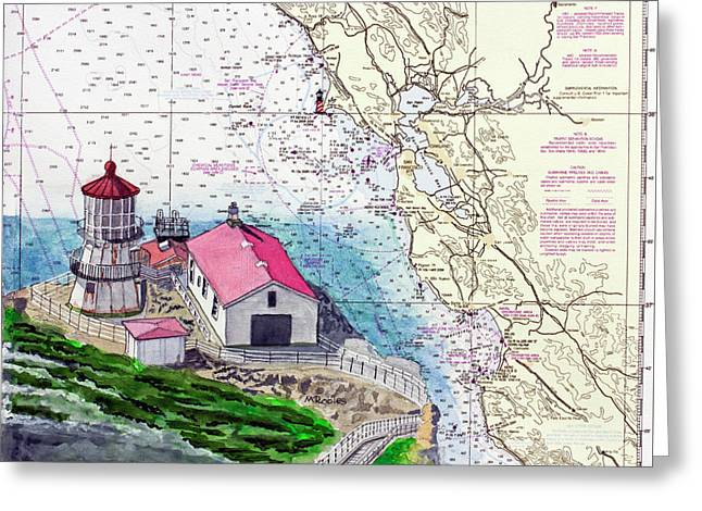 Point Reyes Light Station Greeting Card