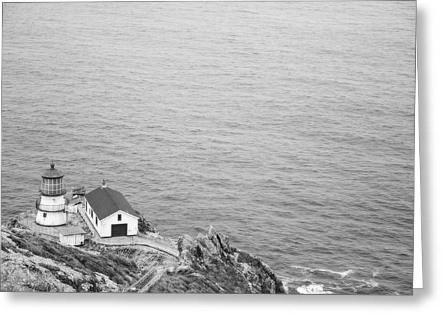 Point Reyes Lighthouse Greeting Card by Ralf Kaiser