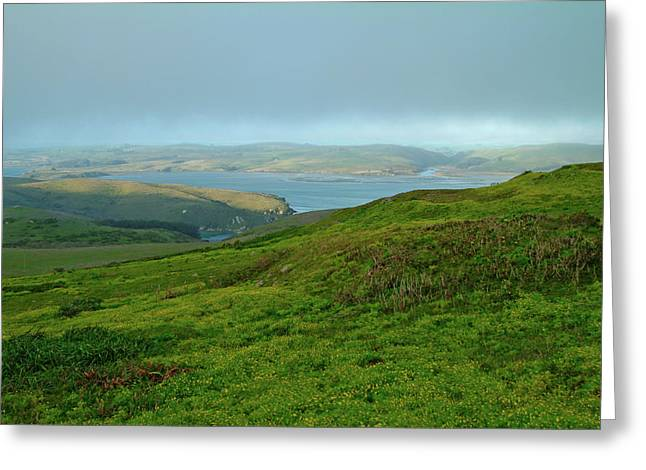 Point Reyes Overlooking Tomales Bay Greeting Card