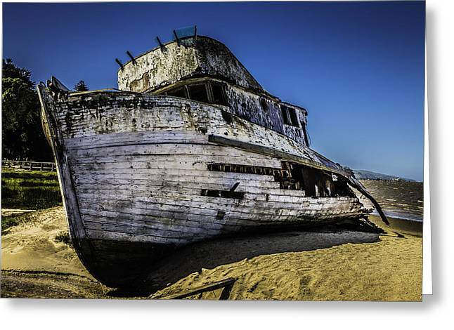 Point Reyes Ship Wreck Greeting Card by Garry Gay