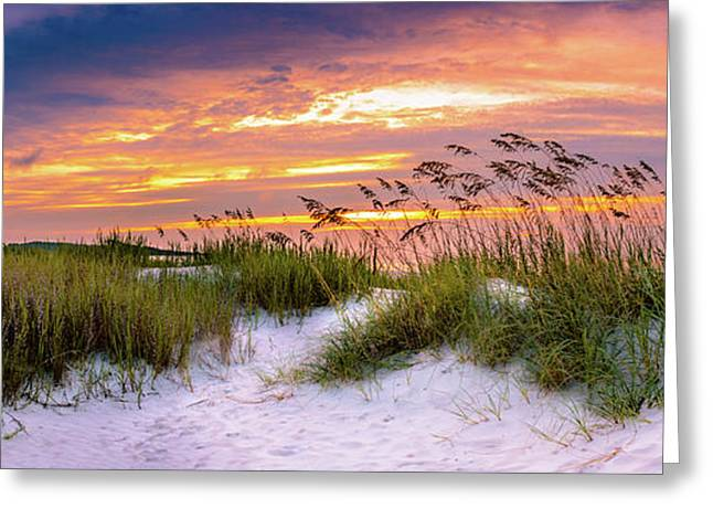 Point Sunrise Greeting Card