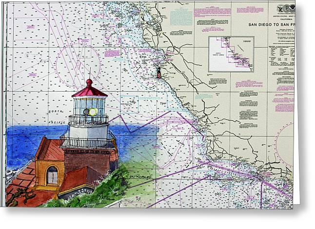 Point Sur Light Station Greeting Card