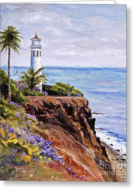 Point Vicente Palos Verdes Greeting Card