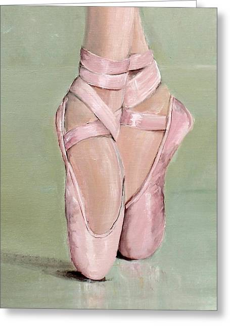 Pointe Shoes Greeting Card by Gail McCormack