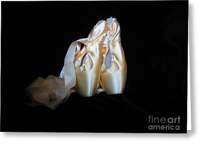 Pointe Shoes3 Greeting Card