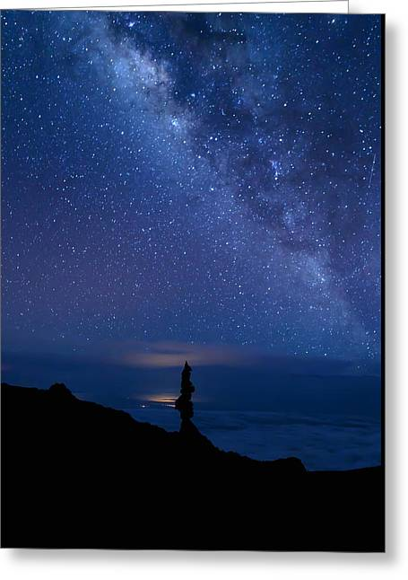 Greeting Card featuring the photograph Pointing To The Heavens by Susan Rissi Tregoning