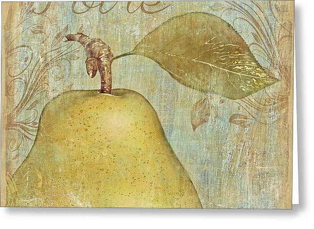 Poire Greeting Card