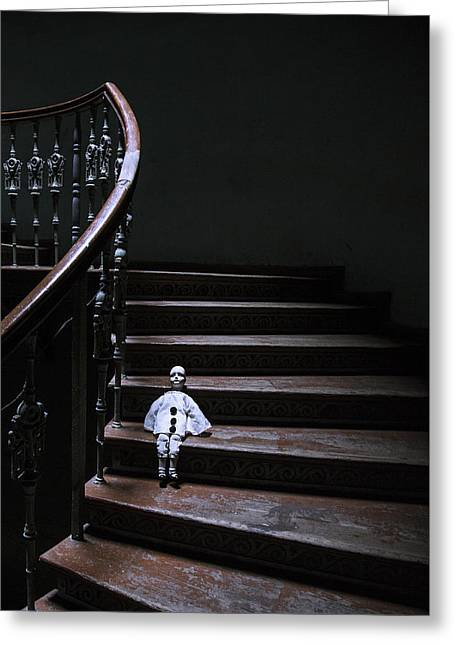 Poirot Greeting Card by Art of Invi