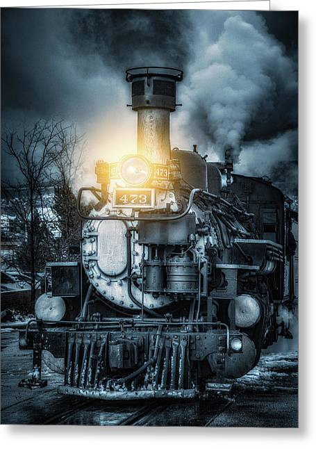 Greeting Card featuring the photograph Polar Express by Darren White