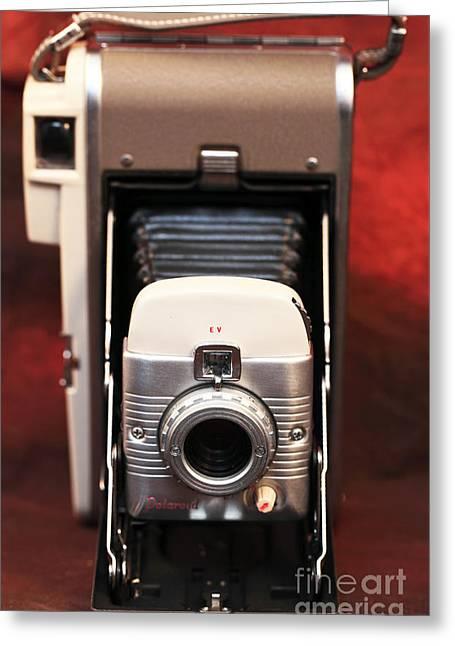 Polaroid Bellows Camera Greeting Card