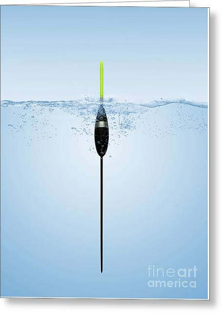 Pole Float Greeting Card by John Edwards
