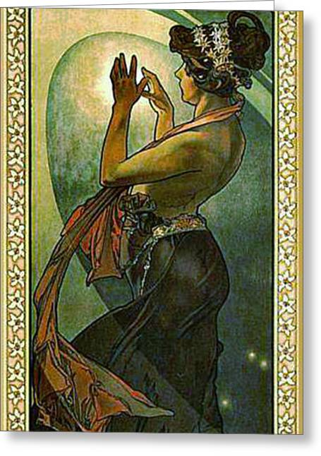 Pole Star 1902 Greeting Card by Padre Art