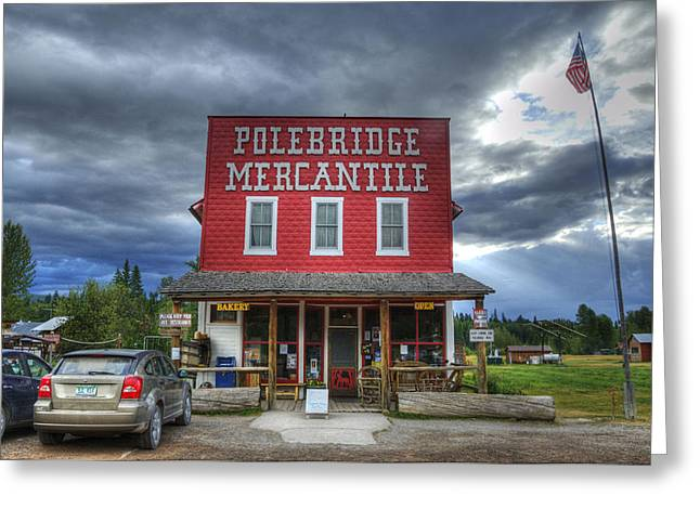 Polebridge Mercantile Greeting Card