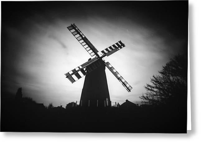Polegate Windmill Greeting Card