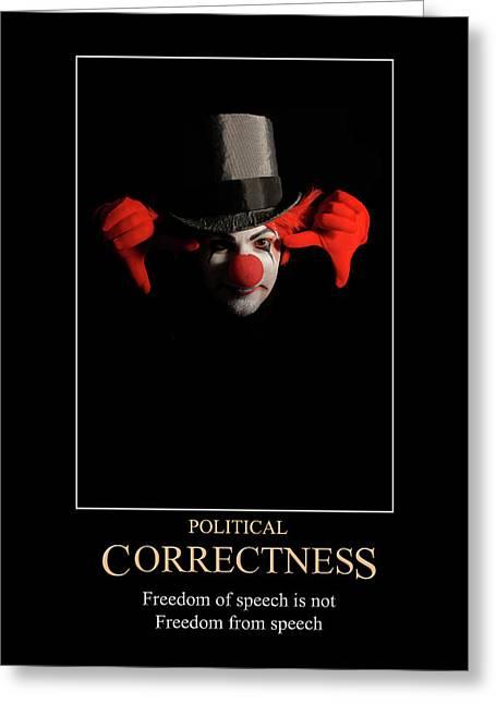 Political Correctness Greeting Card