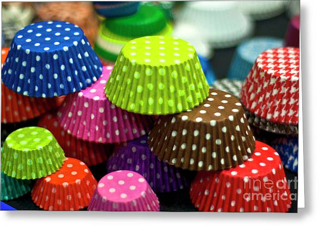 Polka Dots Greeting Card