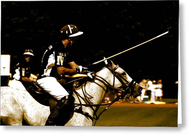 Polo Captain Greeting Card