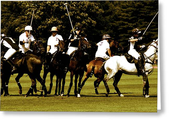 Polo Team Greeting Card