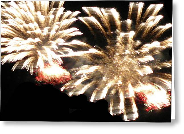 Best Sellers -  - Party Invite Greeting Cards - Pom Pom Burst Greeting Card by Debra     Vatalaro