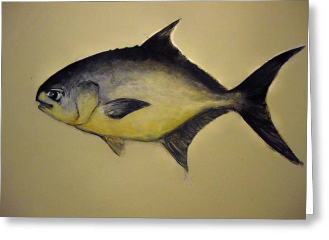 Pompano Greeting Card by Robert Cunningham