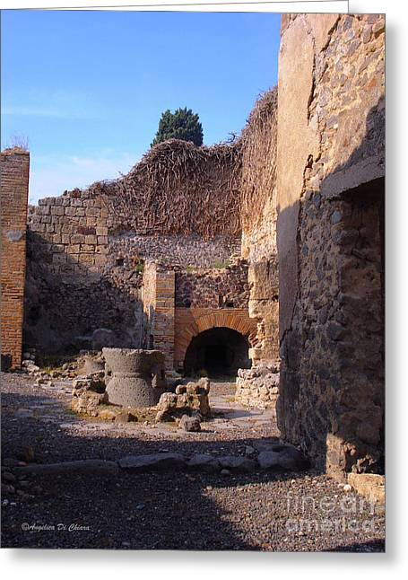 Pompeii,italy Greeting Card
